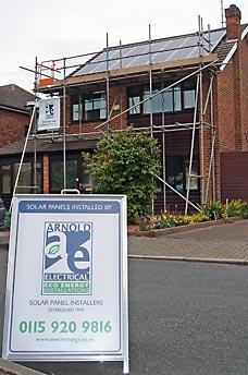 Solarone PV solar panel installation picture 2